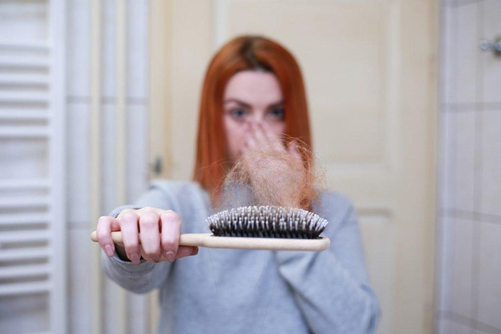 COVID 19 can cause hair loss